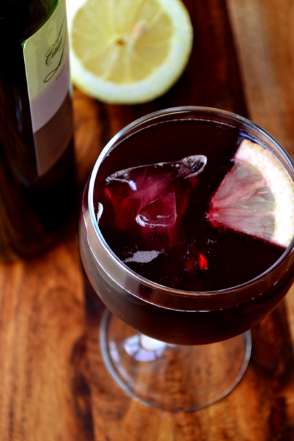 Spanish Red Wine Cocktail