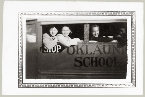 Oklaunion Texas School bus