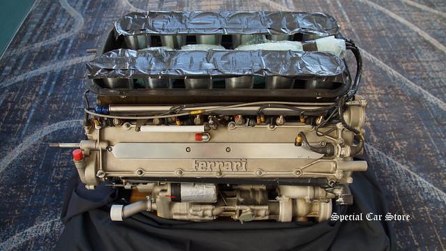 Ferrari 333 SP Engine