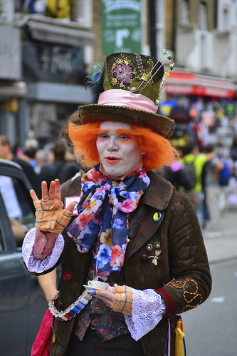 Camden, London 31-5-2014, Mad Hatter