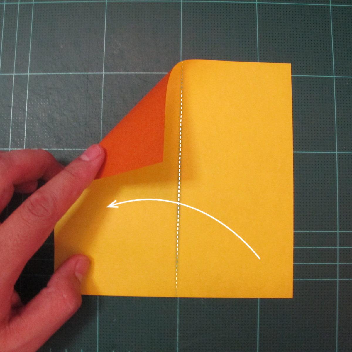 การพับกระดาษเป็นรูปปลาคาร์ฟ (Origami Koi Fish) 001