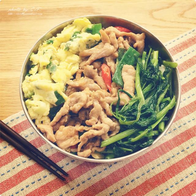 便當菜 , 簡易料理 , 食譜 , 便當食譜 , 蔥爆肉絲