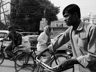La rue/Varanasi