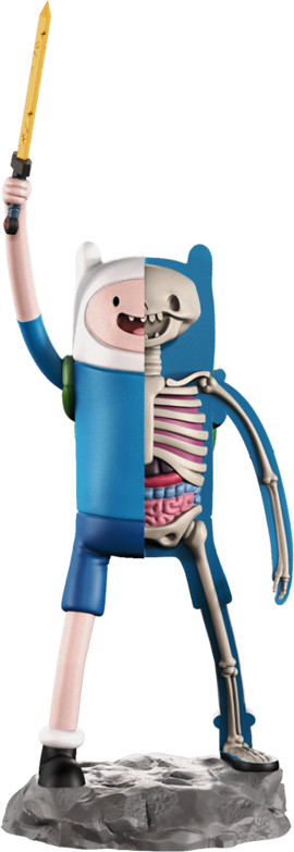 MightyJaXX × Jason Freeny XXRAY系列《探險活寶》阿寶 XXRAY Adventure Time Finn The Human