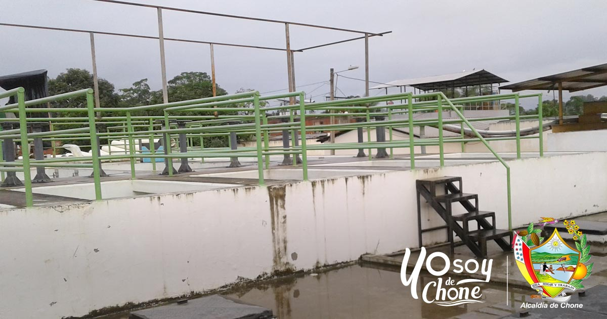 Planta de agua potable de Chone produce de 10 mil a 12 mil metros cúbicos de líquido vital