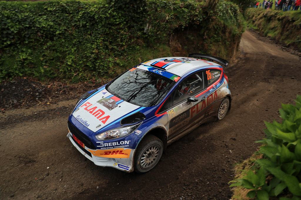 25 ALVES Joaquim RAMALHO Luis Ford fiesta R5 Action during the 2017 European Rally Championship ERC Azores rally,  from March 30  to April 1, at Ponta Delgada Portugal - Photo Jorge Cunha / DPPI