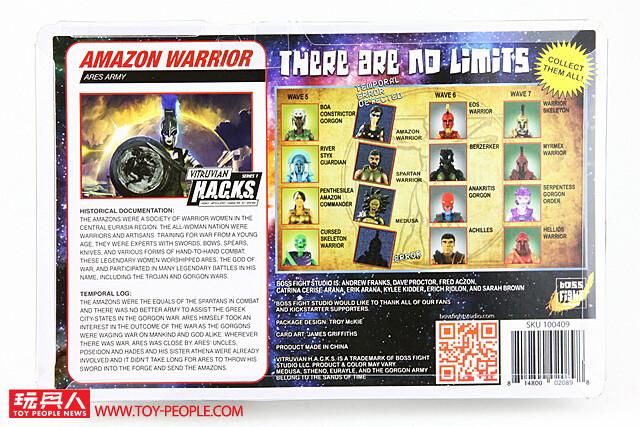 希臘神話的傳奇軍團在此降臨!Boss Fight Studio Vitruvian H.A.C.K.S. 系列開箱報告