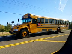 Bus #5363, a 2017 Blue Bird Vision.