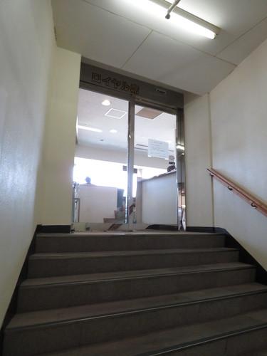 佐賀競馬場のロイヤル席入口