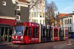 GVB Combino tram 2096, Lijn 2 | Spui