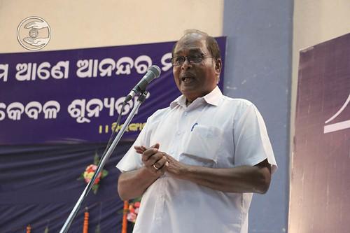 N. Raghunath from Pochilima, Odisha, expressa his views