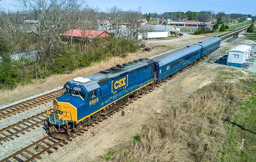 CSX Geometry Train W003