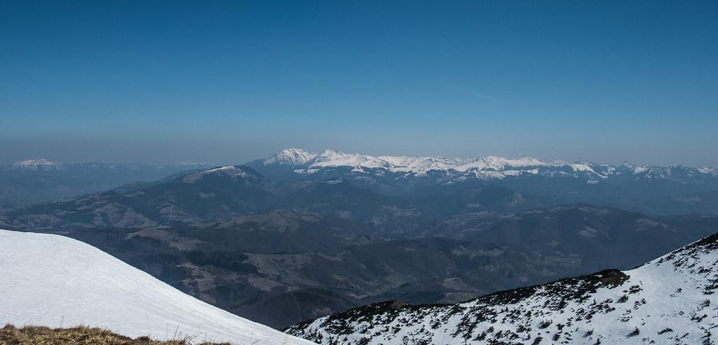 Munții Tibleș în prag de primăvară