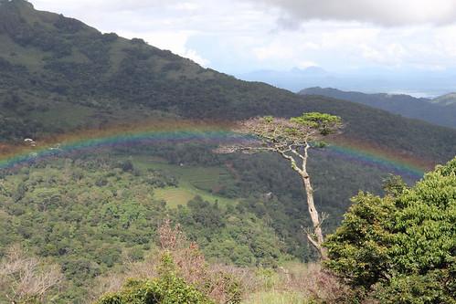 srilanka skycamp sky camp kobonilla rainbow storm sunset