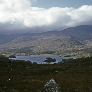Found Photo Ireland 19720501 Killarneys Lakes