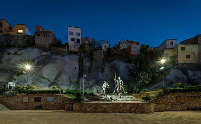 Don Quixote of Guanajuato City, Guanajuato state, Mexico