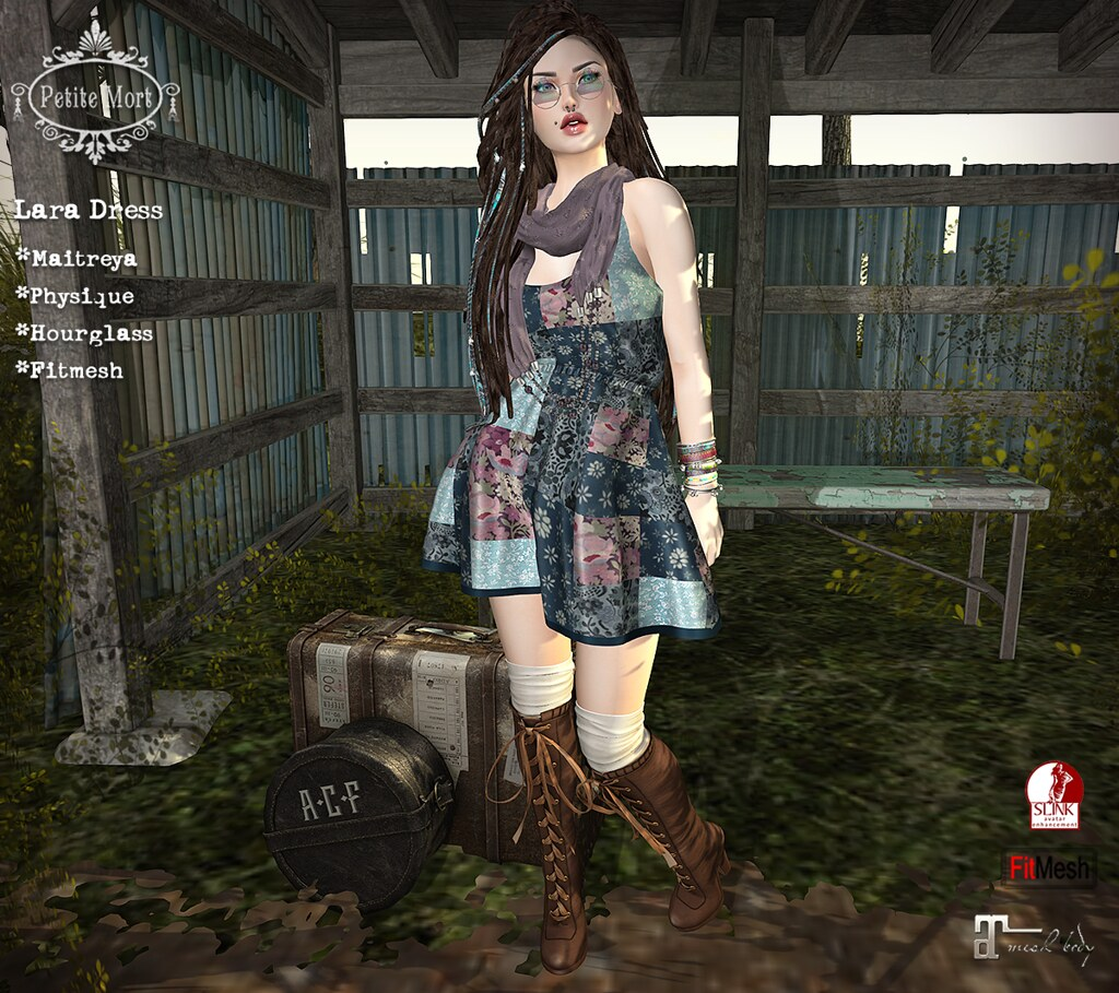 Petite Mort- Lara Dress - SecondLifeHub.com