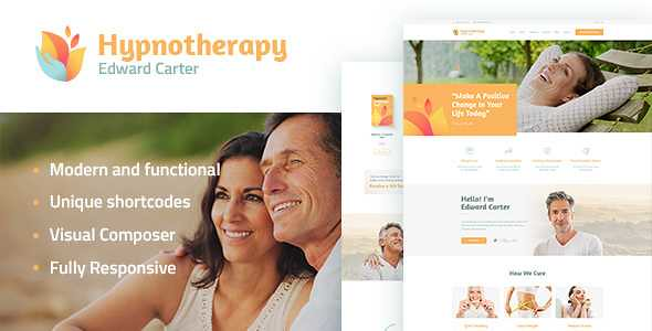 Hypnotherapy WordPress Theme free download