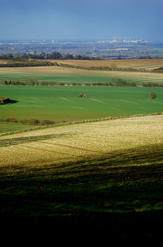 therfield cambridge cambridgeshire cambs arable fields crops tractor farmland addenbrookes hospital shadow hill uk unitedkingdom england english astrazeneca