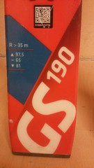 Zavodní lyže atomic GS redster Fis 190 - titulní fotka