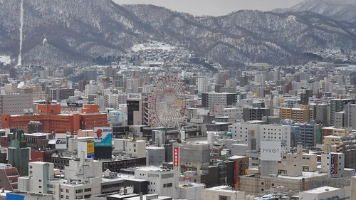 winter snow festival japan sapporo nikon hokkaido february 2010 61st odoripark d5000