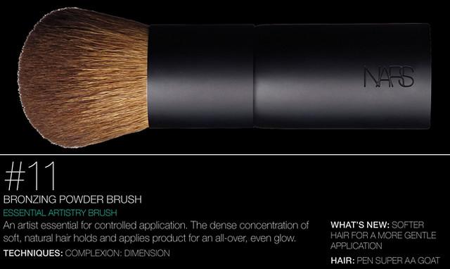 NARS Artistry Brush #11 - Bronzing Powder Brush