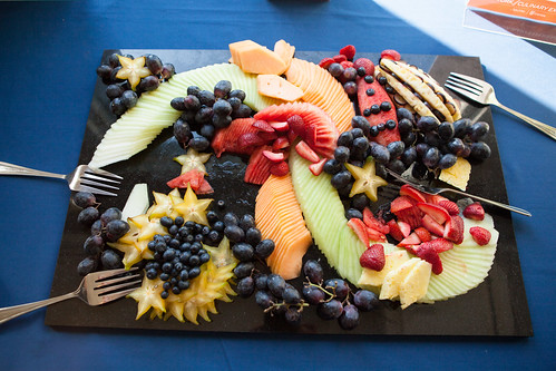Fruit platter for reception