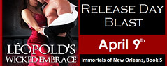 LEOPOLD'S WICKED EMBRACE Release Day Blast & Giveaway