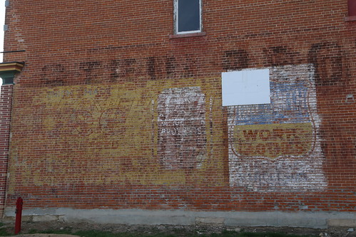 Friend Nebraska, Ghost Sign, Saline County NE
