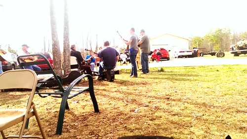 A legit hoedown with my Alabama cousins