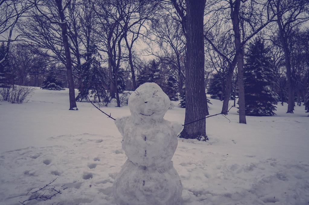 April has snowman