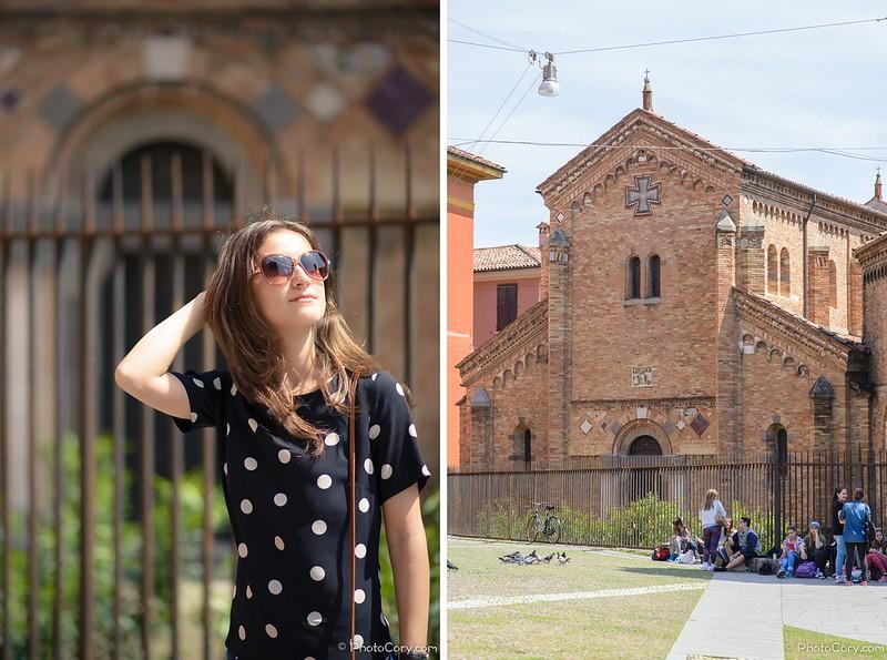 Piazza Santo Stefano and Corte Isolani, Bologna, Italia
