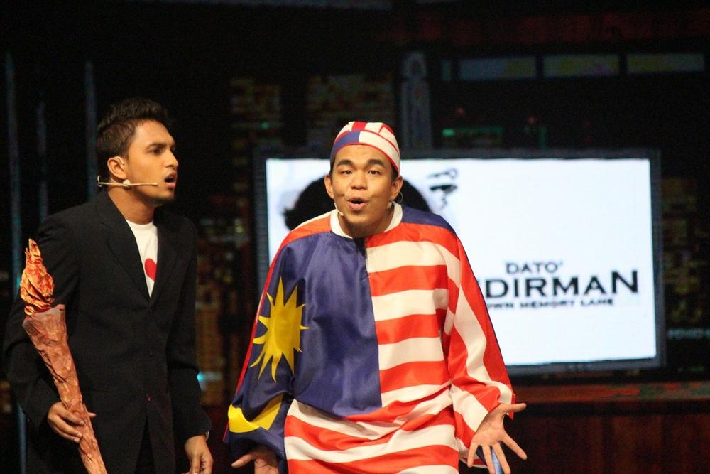 Persembahan 2AZ (Saiful Apek)