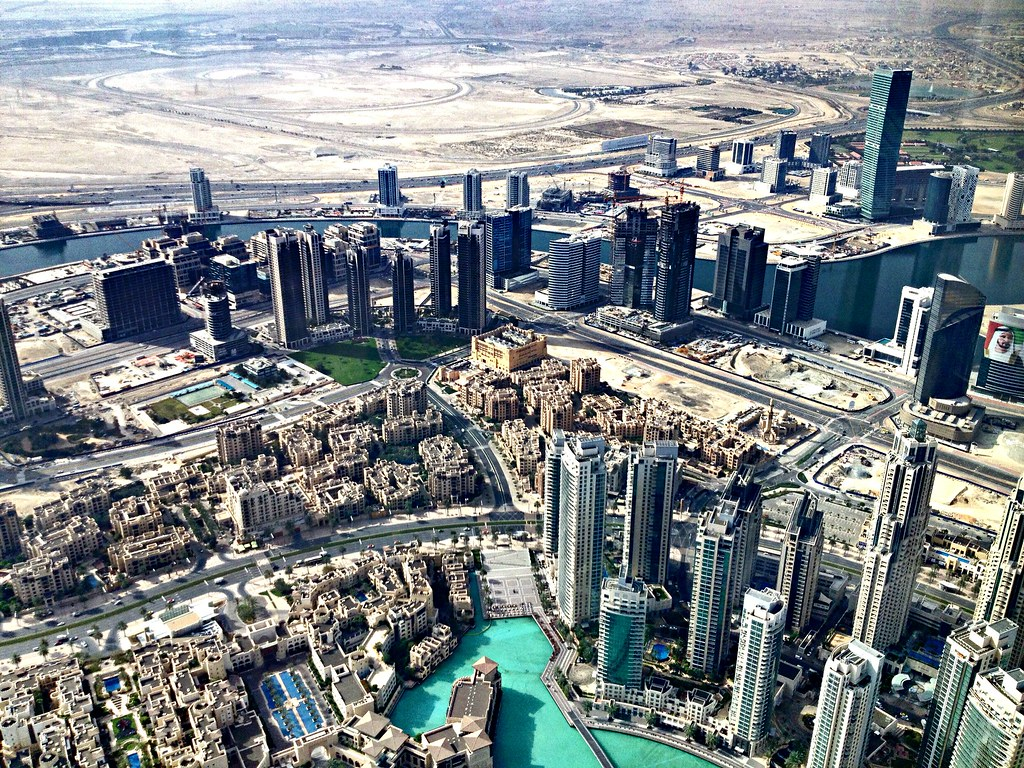 Dubai - view from the Burj Khalifa