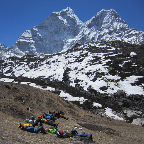 ama dablam after lunch
