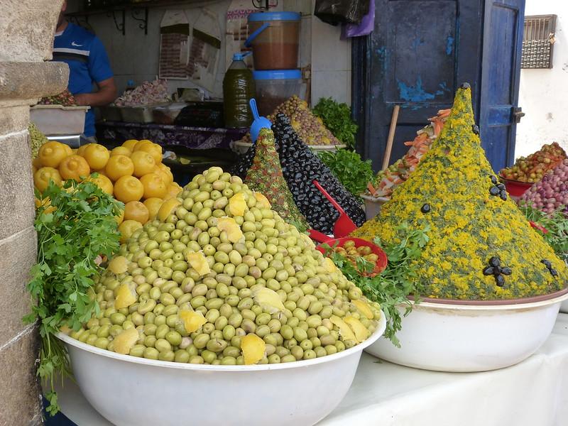 Olives in Essaouira