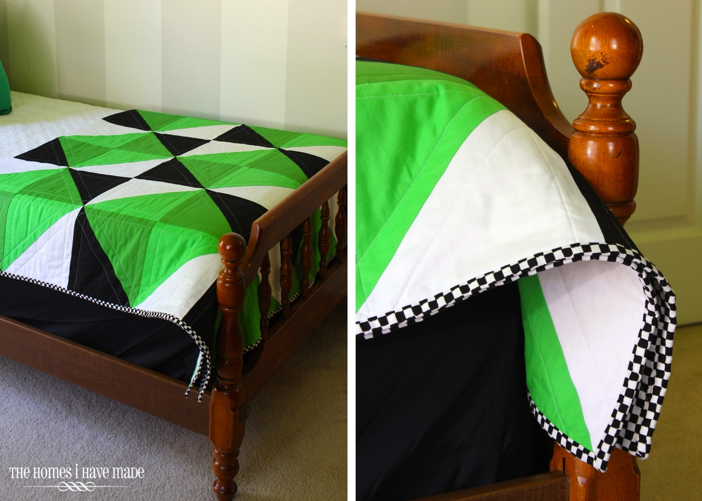 Henry's Green Quilt-011