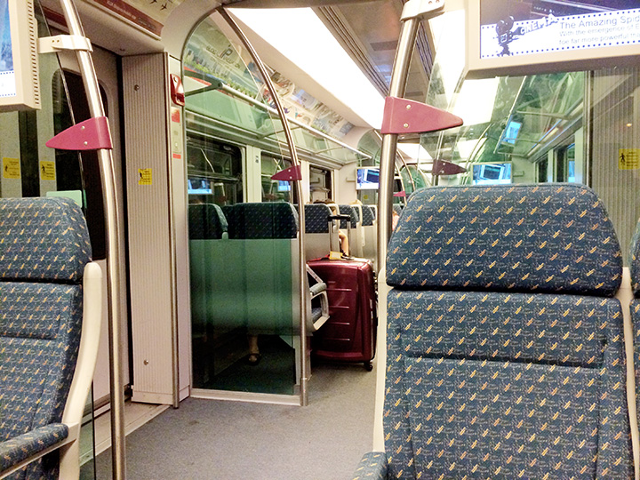 KLIA TRAIN inside