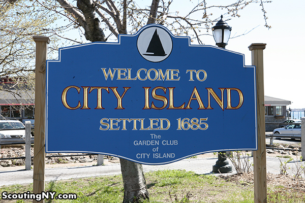 The old reader for City island fishing
