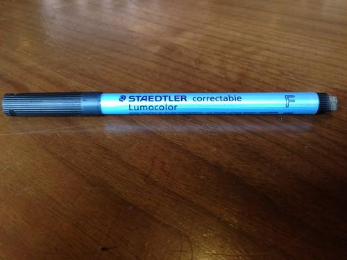 Staedtler Lumocolor Correctable Marker