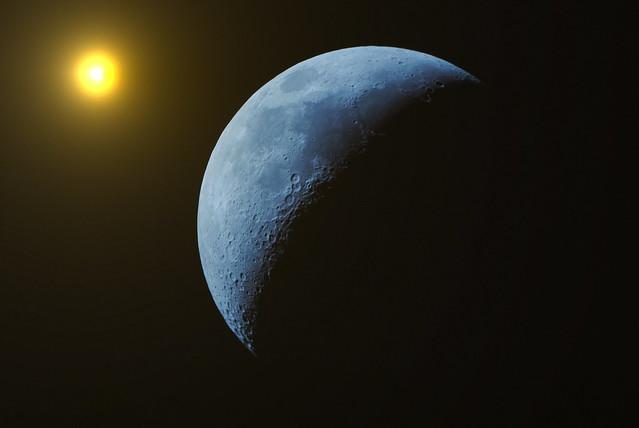 Sun Blue Moon