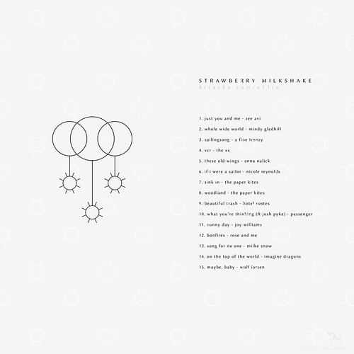 playlist cover - Strawberry Milkshake