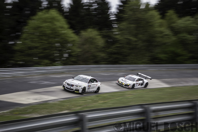VLN. Round 3 ADAC ACAS H&R-Cup at the Nürburgring 26 April 2014