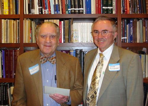 Eric Newman with David Sundman 2008-05-22