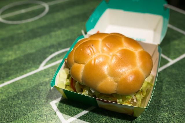ブラジルバーガー ビーフBBQ FIFA World Cup 公式ハンバーガー