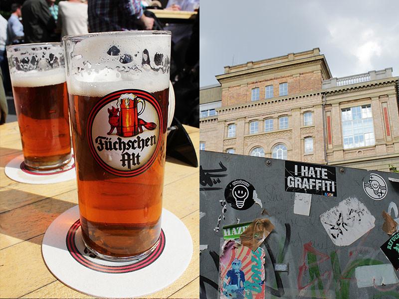 Foto Düsseldorf - Füchschen Brauerei, Kunstakademie