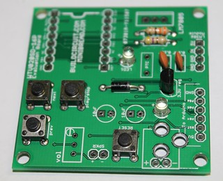 7- Solder 4pcs of tactile switches