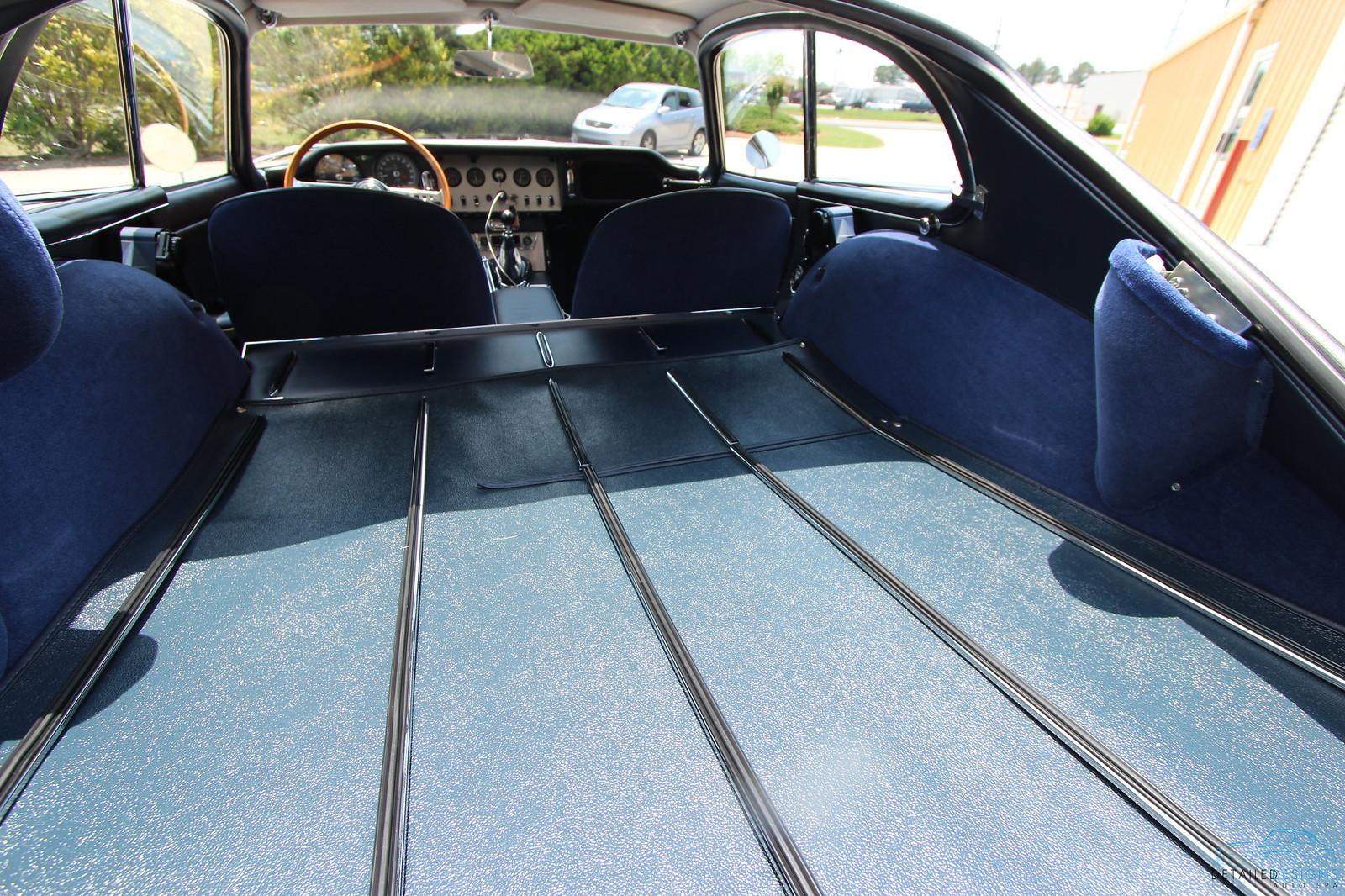 atlanta jaguar e type concours car detailing project. Black Bedroom Furniture Sets. Home Design Ideas