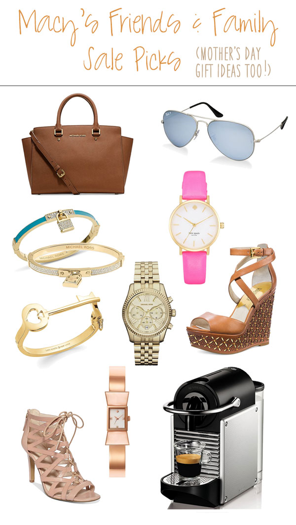 cute & little blog | macy's friends family sale picks | mothers day gift guide