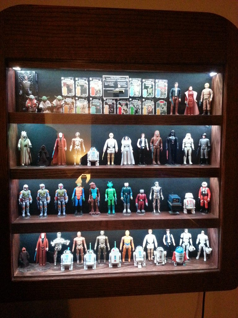 Displaying a full run of Kenner loose figs - how much space 14111994819_2045248d1f_b